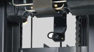 Mastkedja i en skjutstativtruck från Linde