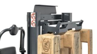 Pallhållare för plocktruck N20 från Linde Material Handling