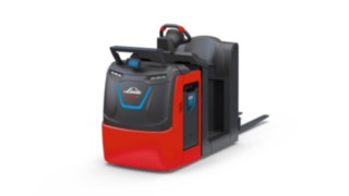 Linde BlueSpot™ på plocktrucken V08 från Linde Material Handling ökar driftsäkerheten.