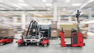 Automatiserad dragtruck i serien Linde Robotics