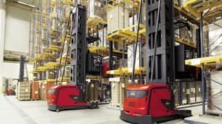 VNA, very narrow aisle, K, moving, warehouse