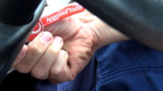 Nyckelband med Linde Approved-logga