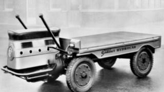 Hydrocar, en av de första lastfordonen från Linde Material Handling