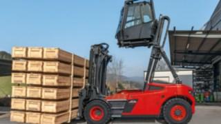 Höjbar hytt är det senaste tillskottet i utbudet av säkerhetsprodukter hos Linde Material Handling.