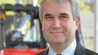 Christophe Lautray, CSO på Linde Material Handling