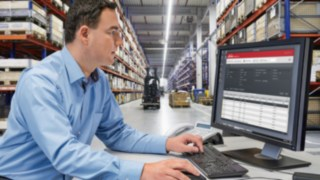 Fleet management-systemet connect från Linde Material Handling