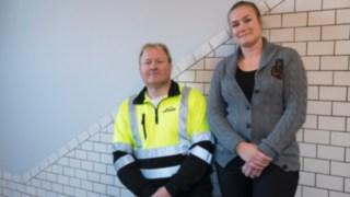 Anna Grahn och Ted Nilsson är ansvariga för utbildningar av nya medarbetare
