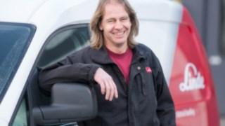 Jens Andersson, servicetekniker