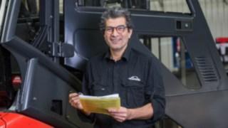 Rahim Khepizadeh, besiktning/leveranskontroll