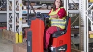 Nya truckar från Linde Material Handling ger ökad förarkomfort, säkerhet och prestanda