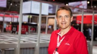 Markus Schmermund är huvudansvarig för intralogistiklösningar på Linde.